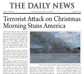 Terrorist Attack on Christmas Morning Stuns America
